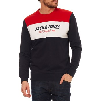 JORSHAKEDOWNS - SWEAT-SHIRT - BLEU MARINE Jack & Jones