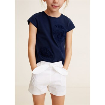 Mango Kids - Short - blanc