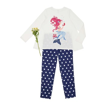 Benetton - Ensemble t-shirt et pantalon - blanc