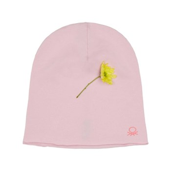 Benetton - Zerododoci - Bonnet - rose