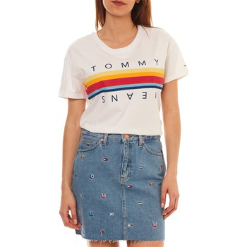 T-SHIRT MANCHES COURTES - BLANC Tommy Jeans