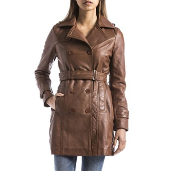 Blue Wellford - Trench - cognac