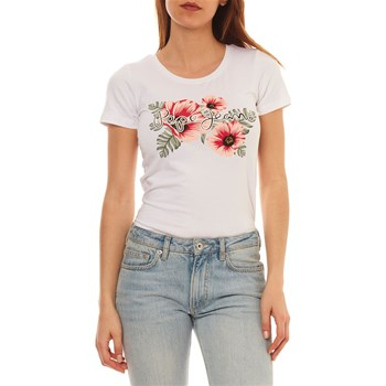 Pepe Jeans London - Kaia - Kurzärmeliges T-Shirt - weiß