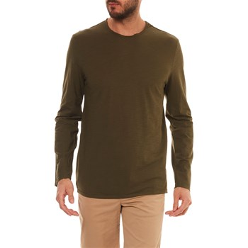 Benetton - T-shirt manches longues - olive