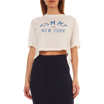 Tommy Jeans - Crop Top - blanc