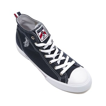 US Polo ASSN - Gynn - Baskets montantes - bleu