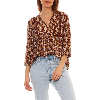 Only - Bluse - bordeauxrot