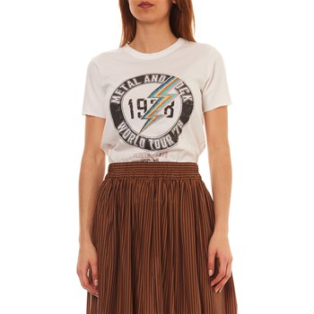 Only - T-shirt manches courtes - blanc