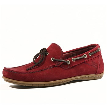 Tbs - Klever - Chaussures bateau - rouge
