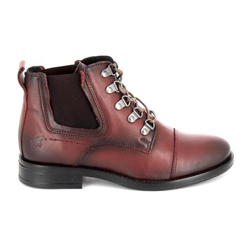 Mustang - Bottines - rouge