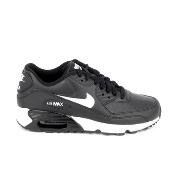 Nike - Air max 90 lea - Baskets basses - noir