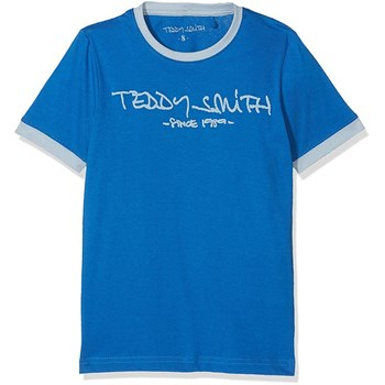 Teddy Smith - T-shirt manches courtes - bleu
