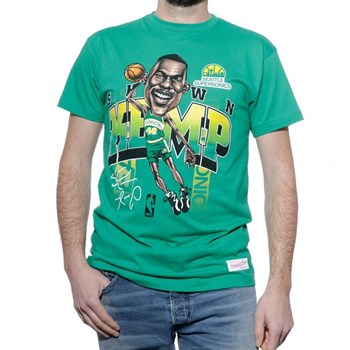 Mitchell And Ness - T-shirt manches courtes - vert