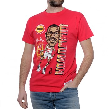 Mitchell And Ness - T-shirt manches courtes - rouge