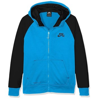 Nike - Veste Solid Therma Fit - Polaire - bleu