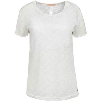 Teddy Smith - T-shirt manches courtes - ecru