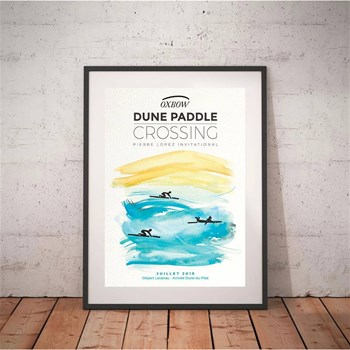 Oxbow - Dune Paddle Crossing 2019 - Affiches - imprimé