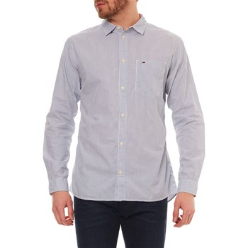 Tommy Jeans - Chemise manches longues - blanc