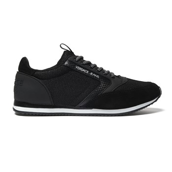 Versace - New running dis - Baskets basses - noir