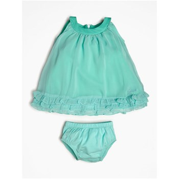 ROBE EN TULLE RUCHÉE - TURQUOISE Guess Kids