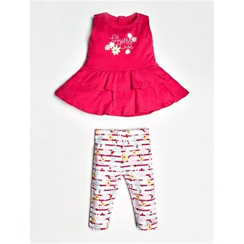 Guess Kids - Ensemble top et legging - rose