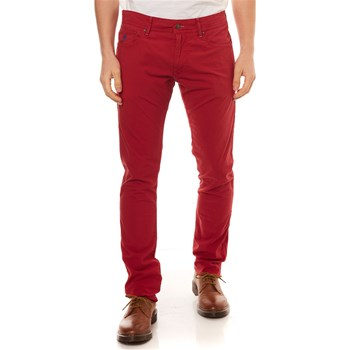 MCS - Pantalon - rouge