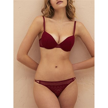 Princesse tam.tam - Atlas - Soutien-gorge push-up - rouge