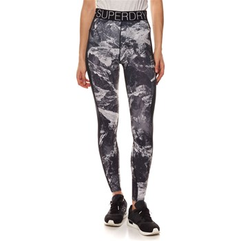 Superdry - Legging - negro