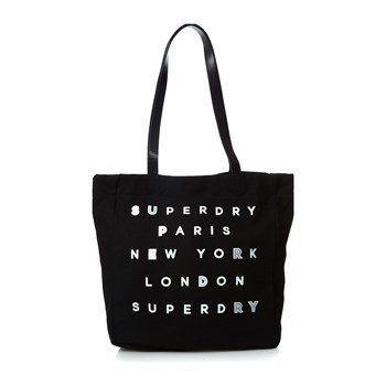 Superdry - Shopper - zwart
