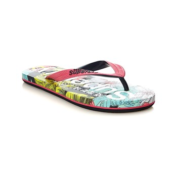 Superdry - Chanclas - fucsia