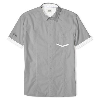 Oxbow - Caluso - Chemise manches courtes - gris