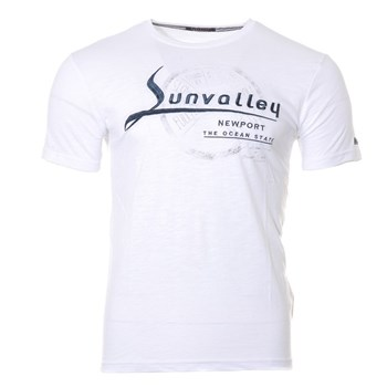 Sun Valley - T-shirt manches courtes - blanc