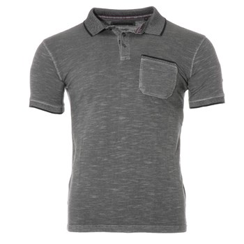 Sun Valley - Polo manches courtes - gris