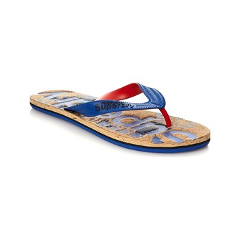 Superdry - Tongs - bleu