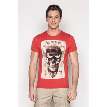 Deeluxe - Clem - T-shirt manches courtes - rouge