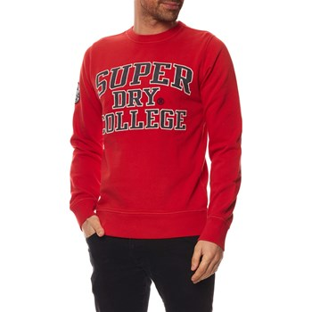 Superdry - Sweat-shirt - rouge