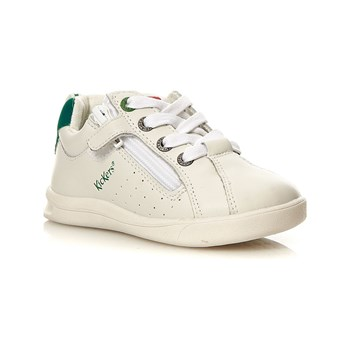 Kickers - Chicago BB - Baskets en cuir - blanc