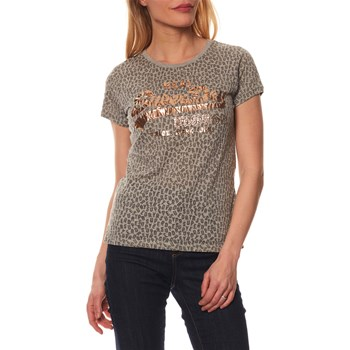 Superdry - T-shirt manches courtes - gris chine