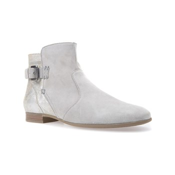 Geox - Marlyna - Bottines en cuir - gris clair