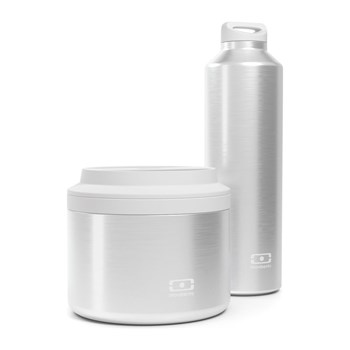 monbento - Lunch box Pack isotherme - gris
