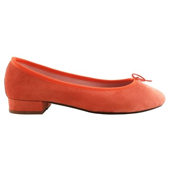 Exclusif Paris - Lidia - Ballerines en cuir - orange