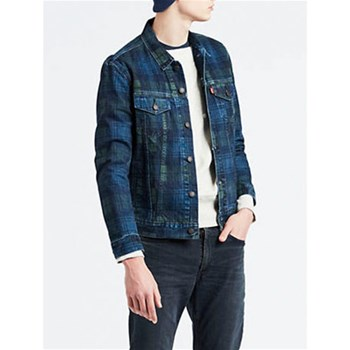 Levi's - The Trucker - Blousons - gemustert