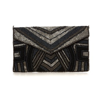 Moa - Chic party - Sac pochette - noir