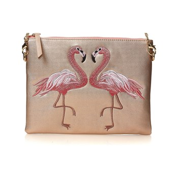 Moa - The Wall - Sac pochette - or