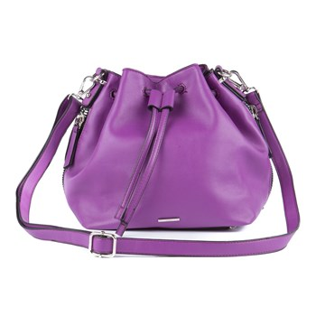 Moa - New york - Sac seau - violet