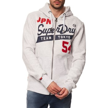 Superdry - Sweat à capuche - gris chine