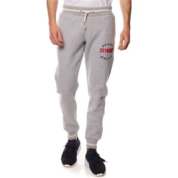 Superdry - Pantalon jogging - gris chine