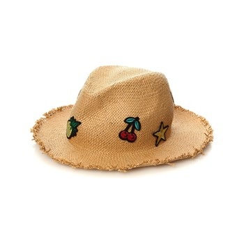 Pepe Jeans London - Patch Girl - Casquette - paille