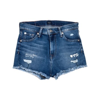 Pepe Jeans London - Patty Tag - Short - bleu jean