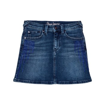 Pepe Jeans London - Alina Bling - Gonna di jeans - blu